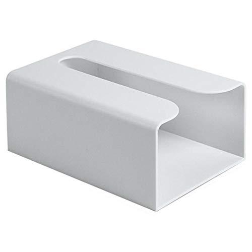ZXY Tissue Box, Toilettes Amovible Bac à Papier Mural Cuisine Salle Transparente tiroir Plateau Boîte de Rangement,Gris