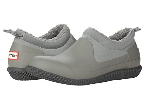 HUNTER Original Sherpa Shoe Tundra Grey/Docker Grey 8 M
