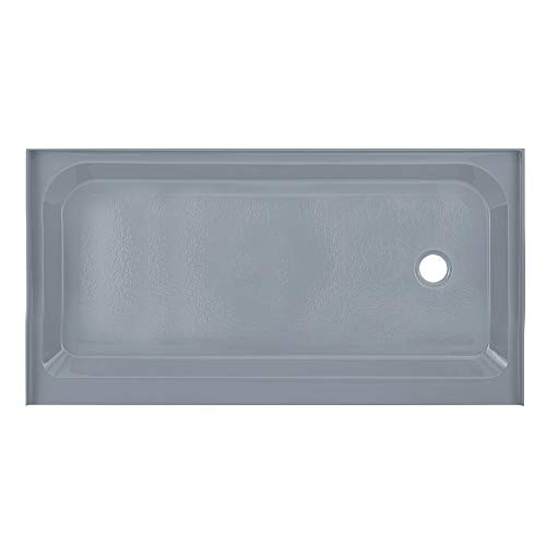 Swiss Madison Well Made Forever SM-SB514E Grey Voltaire 60x32 Single-Threshold, Right-Hand Drain, Shower Base