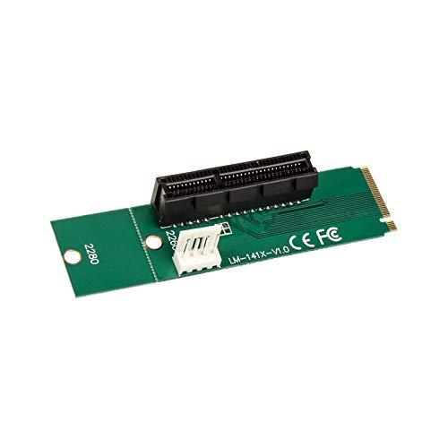 KOLINK PCI-E 1x auf Quad 16 x Quad Mining/Upgrade Kryptowährung Bitcoin GPU Adapter Computer Zubehör Anschluss Motherboard Vertikal Grafikkarte Graphics Cards Halter Holder Grafikkartenhalterung