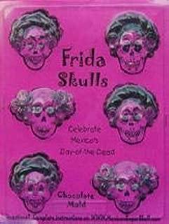 Chocolate Frida Sugar Skull Mold - Candy Making Mold