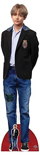 empireposter Bangtan Boys - BTS - V - Blazer - Star VIP - Pappaufsteller Standy - 42x178 cm