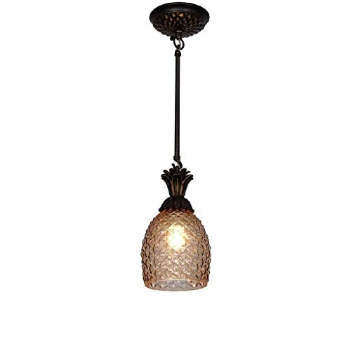 CHNOI Colgando de champán Copa de Oro Luz Pendiente de Montaje Empotrado de Techo Accesorio Ligero de Cristal Moderna lámpara de la lámpara