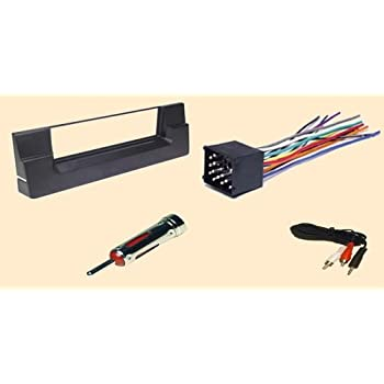 Amazon.com: Carxtc - Fits BMW 5 (540i and 528i) Series 1997 1998 1999 2000  Stereo Wiring Harness, Dash Install Kit Faceplate, with FM Antenna Adaptor  (Combo Complete Aftermarket Stereo Wire and Installation Kit): Car  ElectronicsAmazon.com