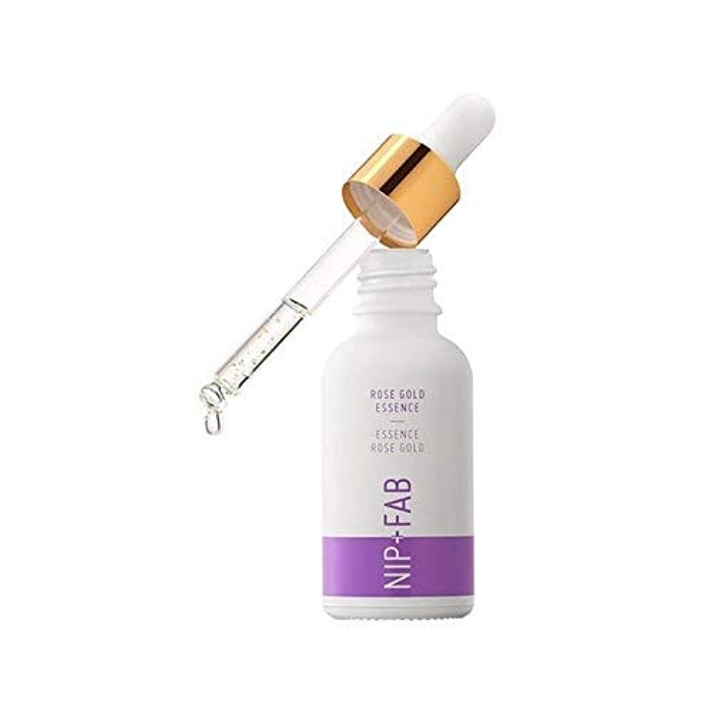 隔離アルファベットなので[Nip & Fab ] + Fab化粧プライマーニップゴールドエッセンスをバラ - Nip+Fab Makeup Primer Rose Gold Essence [並行輸入品]