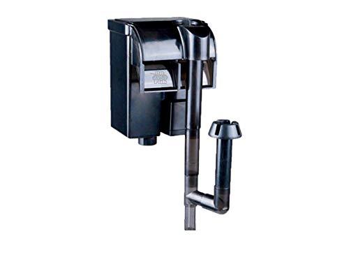 Nicepets  – Mini Filtro pequeño para Acuario y pecera de Mochila Externo con Sistema de Cascada para filtración de Agua en acuarios y peceras con Peces o Tortugas. Potencia 300 litros Hora y 2W