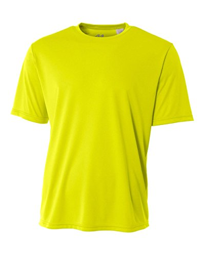 A4 Youth Cooling Performance T-Shirt XS SAFETY YELLOW