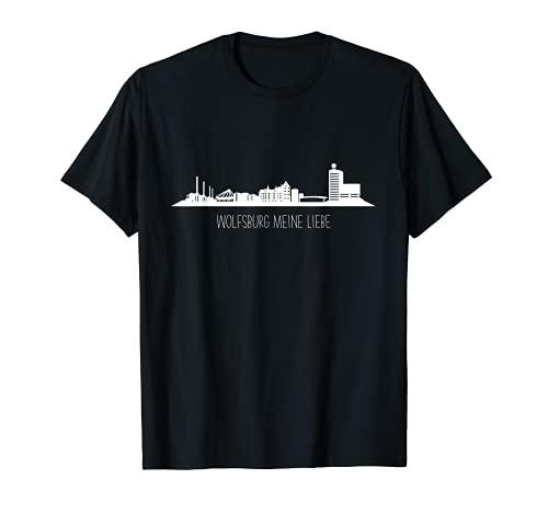 Wolfsburg meine Liebe - perfekt für alle Wolfsburg Fans T-Shirt