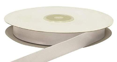 Nastro Doppio Raso Bianco 15 mm x 50 mt