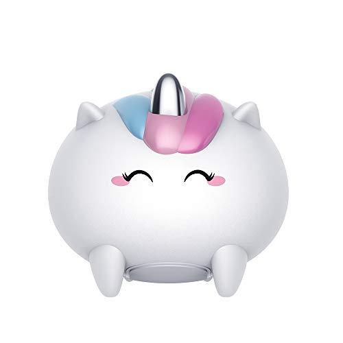 Schattig nachtlampje van siliconen, USB-stopwatch, laadt het kleine nachtlampje, cadeau voor kinderen.