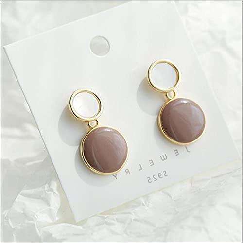 XCWXM Perle Rouge Perle Ronde Perle Boucles d'Oreilles Coréennes Élégantes Boucles d'Oreilles Chemises d'Oreilles Blanches Coréenne Star Boucles d'oreilles-51