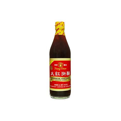 Vinagre rojo chino 500 ml por Tung Chun
