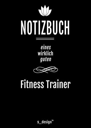 Notizbuch für Fitness Trainer: Originelle Geschenk-Idee [120 Seiten liniertes DIN A4 blanko Papier]