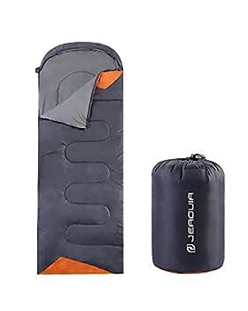 - Sac de couchage léger 3 saisons (printemps, automne, été) - Sac de couchage étanche pour randonnée, camping (bleu).