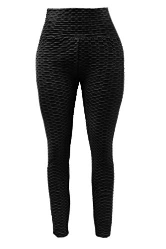Dames Anti-Cellulite Leggings Sportbroek Compressie Fitness hoge taille YG-14