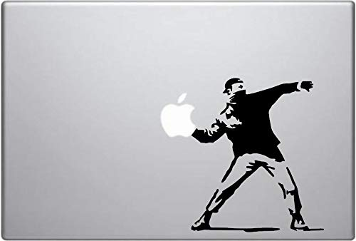 Molotov Vinyl Decal Car Window Bumper Sticker Banksy Art iPad Macbook Laptop Funny Sticker For Car Truck Bike Window Sticker Vinyl Decal Vehicle Accessories - 4 Inches - 2 Pack