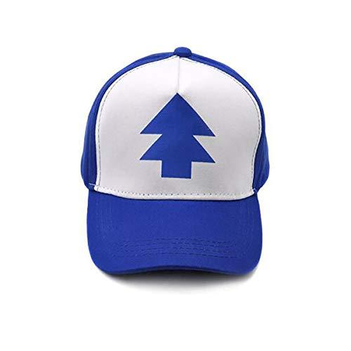 GAOXUQIANG Blaue Baseballmütze Schwere Tropfen Kappe einstellbar Trucker Cap