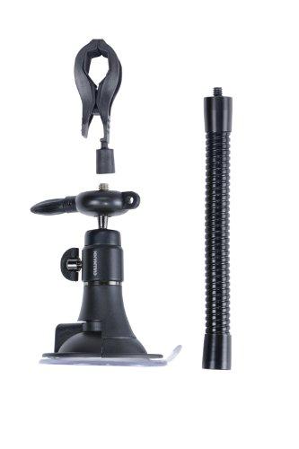 Cullmann Flexx Suction Saugstaiv Kit inkl. Smartphonehalterung schwarz