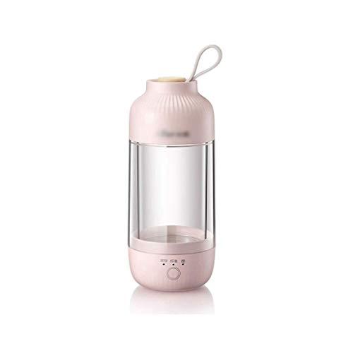 SCJ Tragbare Joghurtmaschine, Multifunktions-Mini-Fermentationsmaschine, Reise, Joghurtbecher, kleine automatische Heimjoghurtmaschine (Farbe: Pink)