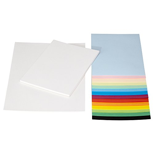 IKEA Malpapier Bastelpapier MALA A3 und A4 weiß und bunt