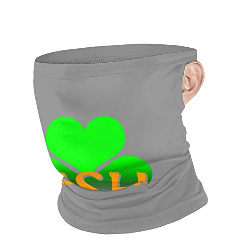 I Love Irish Bacon Reusable Dust Mask Cloth Balaclava Bandana Scarf Face Nose And Mouth