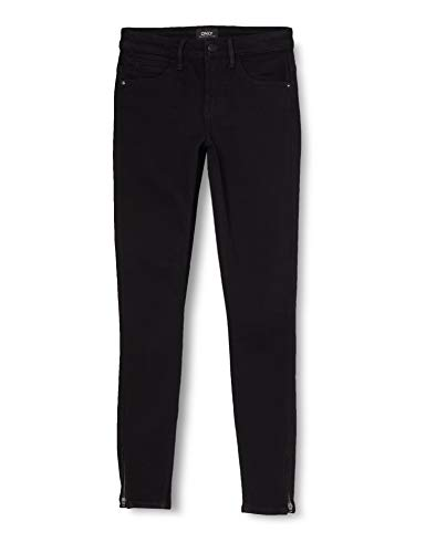 ONLY Damen Onlkendell Eternal Ankle Black Noos Jeans, Black, M 32L EU