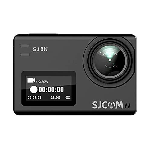 SJCAM SJ8K 4K WiFi Action Camera Touch Screen Sport Cam with Sony Sensor EIS 170°Wide,2.33