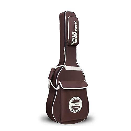 YPEZ Bolsa De Concierto De Guitarra Acústica De Tela Oxford De 40/41 Pulgadas, Mochila Impermeable con Correas...