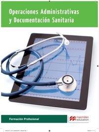 Operaciones administrativas y documentación sanitaria (Cicl