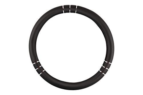 BC Corona FVO10136 Chromeline Funda de Volante Universal, Color Negro