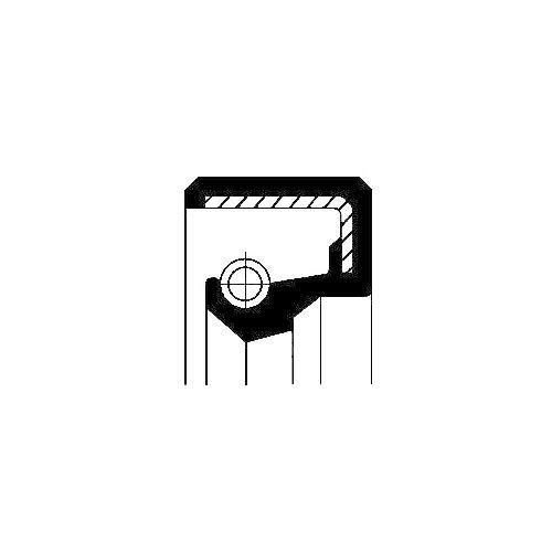 Corteco 12010862B Anillo retención, mecanismo dirección