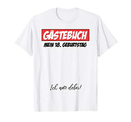 18. Geburtstag Junge Mädchen 18 Jahre 2002 Party Geschenk T-Shirt