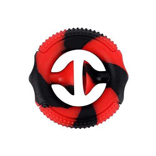 Geranium Fidgetleksak, silikon handhållen minifidgetleksak, tryck, greppa, snappa, sensorisk, party popper noise maker stressreducering