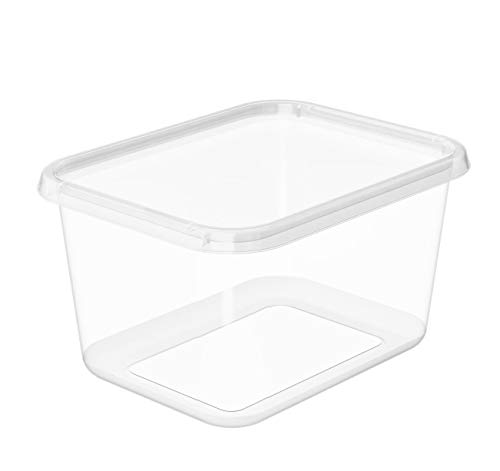 Orthex 3062070 Smart Store Basic M Box, PP, Transparent, 45 x 35 x 25 cm