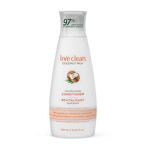 Live Clean Coconut Milk Moisturizing Conditioner 12 oz