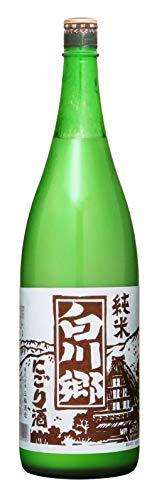 三輪酒造 白川郷 純米にごり酒 [ 日本酒 岐阜県 1800ml ]