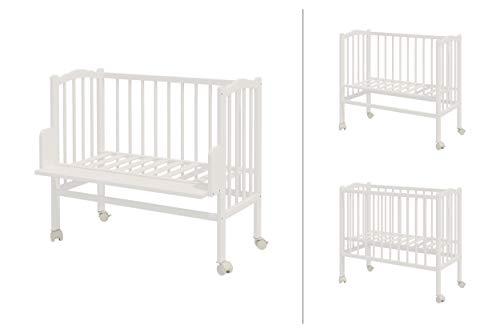 ComfortBaby ® Bestellbett 2in1 Plus aus Massivholz (Weiß)