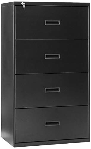 Big Sale Best Cheap Deals HON 434LP 400 Series 30 by 53-1/4 by 19-1/4-Inch 4-Drawer Lateral File, Black