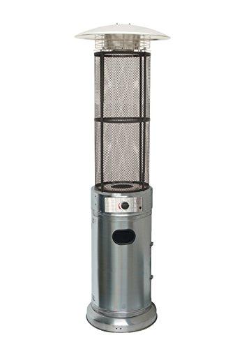 Heizstrahler OUTDOOR Gas Cilindrica Edelstahl;