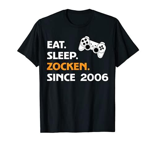 Eat Sleep Zocks Since 2006. Camiseta
