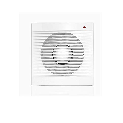 JYDQM Ventilador de Escape Cuadrado, Vidrio de baño Instalado, Extractor de Intercambio de Aire de Alta Potencia, Ventilador de Cocina, Inodoro, silencioso, Ventilador