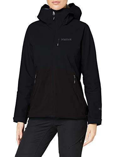 Marmot Chaqueta con capucha para mujer Rom 2.0, Mujer, Chaqueta con capucha, 13050, negro, medium