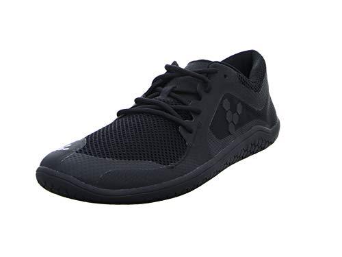 Vivobarefoot Men's Primus LITE Running Trainer Shoe, All Black, 43 D EU (10 US)