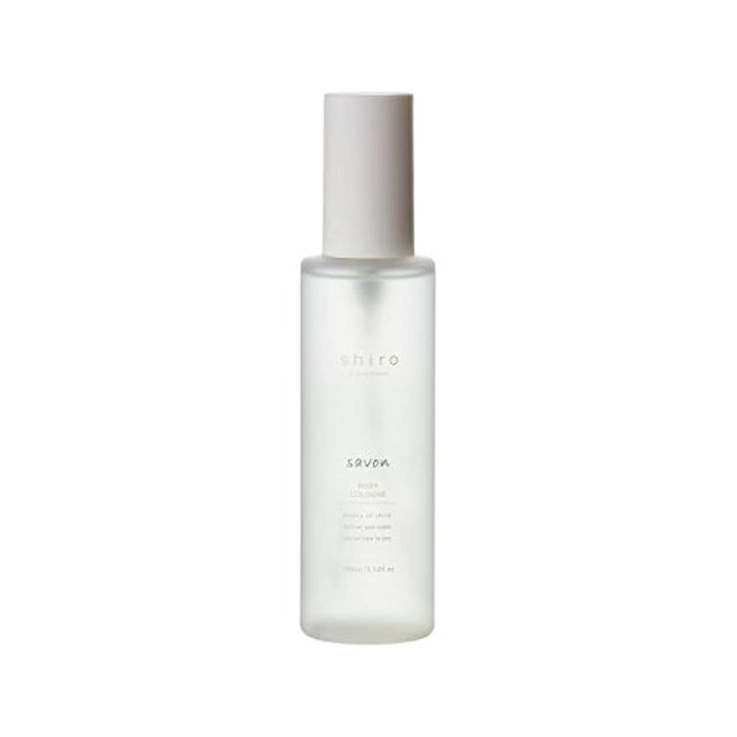 日焼け悔い改め玉ねぎshiro サボン ボディコロン 100ml 清潔で透明感のある自然な石けんの香り ミスト シロ