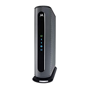 Motorola MB8611 DOCSIS 3.1 Multi-Gig Cable Modem | Pairs with Any WiFi Router | Approved for Comcast Xfinity Gigabit Cox Gigablast Spectrum and More | 2.5 Gbps Ethernet Port