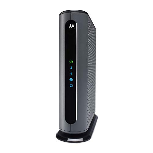 MOTOROLA MB8611 DOCSIS 3.1 Cable Modem with 2.5G Ethernet, Approved for Comcast Xfinity Gigabit and More.