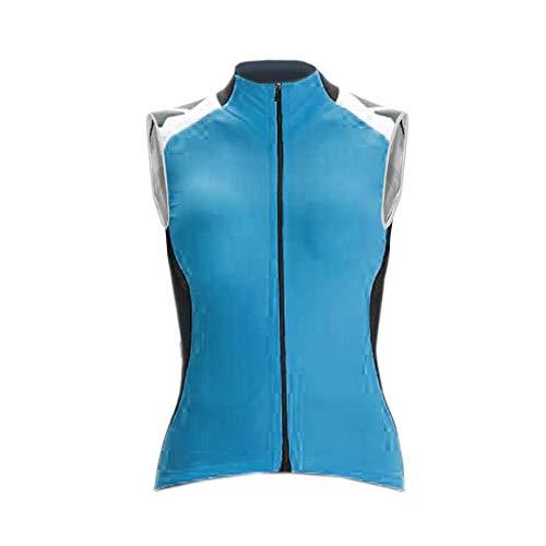 Uglyfrog Damen Fahrradweste Radweste Reflektierende Atmungsaktive Laufweste Ärmelloses Trikot, Atmunsaktiv, Team Racing Radfahren Top
