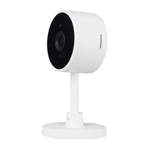 Nivian cámara Wifi 2.4Ghz-Grabación en MicroSD(No incluida)-FullHD 1080P- Audio bidireccional-Apta para interior-Compatible con Amazon Alexa y Google Home–Control remoto con APP Tuya