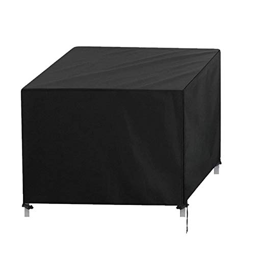 YUNSHAO Garden Furniture Covers, Waterproof, Anti-UV,420D Oxford Fabric Rattan Furniture Cover for Cube Set, Patio, Outdoor Patio Table Cover (Size : 123 * 123 * 74cm)
