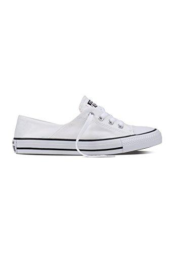 Converse Chuck Taylor All Star Coral Oxford - White/Black/White